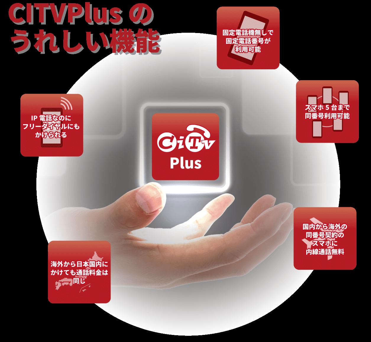 CITVPlusのうれしい機能